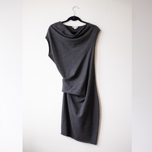 Helmut Lang Dresses & Skirts - Helmut Lang Asymmetrical grey dress